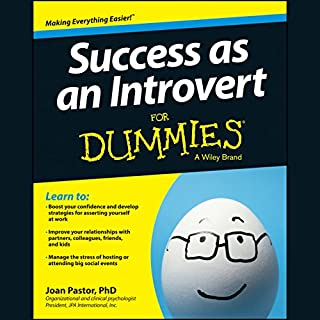 Success as an Introvert for Dummies cover art