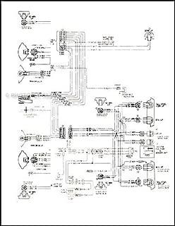 1978 Corvette Original Foldout Wiring Diagram Original
