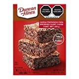 Duncan Hines Chewy Fudge Brownies Brownie Mix 13 x 9 Family Size 520g