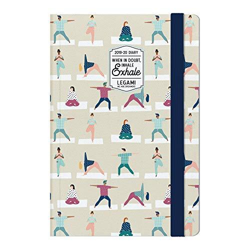 Medium  photo weekly diary with notebook 18 mesi 2019/2020 - yoga lover