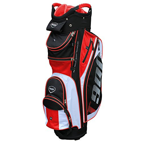 Masters Golf - T:900 Trolley Bag Black/White/Red