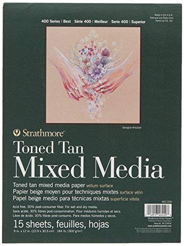 Strathmore Toned Tan Mixed Media Pad