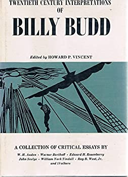 Hardcover Twentieth Century Interpretations of Billy Budd (Twentieth Century Interpretations) Book