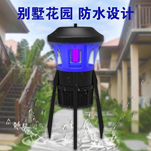 LLZMWD Extérieur/Lampe De Moustique/Patio/Jardin/Lampe De Moustique/Piège/Villa/Restaurant/Hôtel/Force/Aspiration/Ied, Bleu