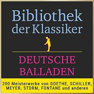 Deutsche Balladen (Bibliothek der Klassiker) Titelbild