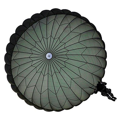 24' Surplus Military Parachute T-10 Reserve Sun Shade Cover