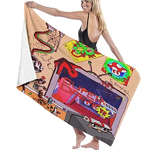 XCNGG Toallas de Playa de Microfibra Lil Darkie para Viajes Deportivos, Piscinas, Playas, gimnasios, Toallas Ligeras absorbentes de Secado rápido de 31