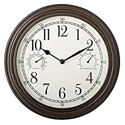 Westclox 33027 Wall Clock, 12, Multicolor