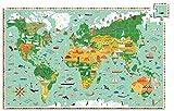 inna- Puzle Observación del Mundo (Djeco 24603)