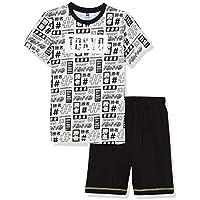 Lenny Sky EG.jap.psh Pijama, Gris (Gris Chine/Noir Gris Chine/Noir), 12 años para Niños