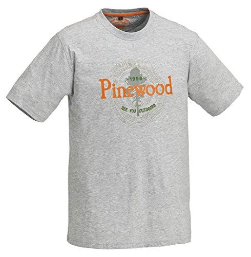 Pinewood Enfants Outdoor Kids T-Shirt 5-6 Ans Gris mélangé