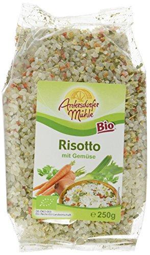 Antersdorfer Mühle Risotto mit Gemüse Bio, 6er Pack (6 x 250 g)