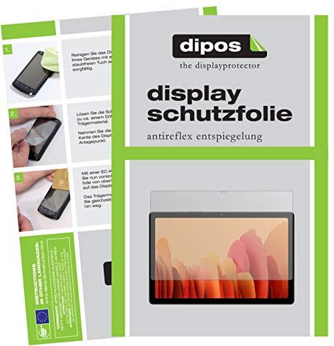dipos I Schutzfolie matt kompatibel mit Samsung Galaxy Tab A7 10.4 Zoll (2020) Bildschirmschutz-Folie