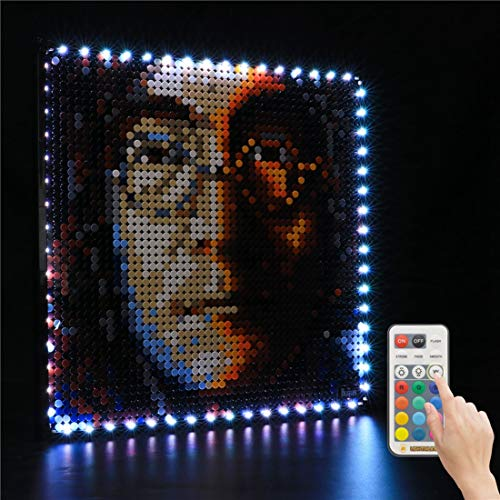 Juego De Luces Led para El Kit De Construcción Coleccionable De Los Beatles Compatible con El Juguete Lego 31198, Color Y Brillo Ajustables (Solo Luz Incluida)