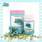 Best Biotin Vitamins - Power Gummies Hair Vitamin with Biotin (Blue)-60 Review