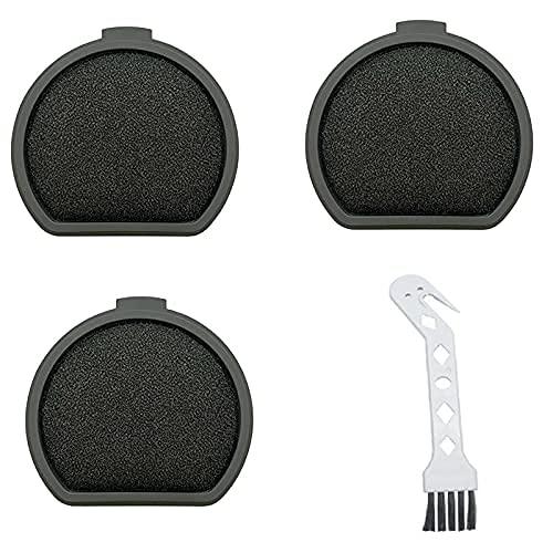 De Galen Piezas de repuesto para aspiradoras Electrolux AEG AEG ASKQX9 Juego de filtros prefiltros (color negro). Accesorios de vacío (color negro)