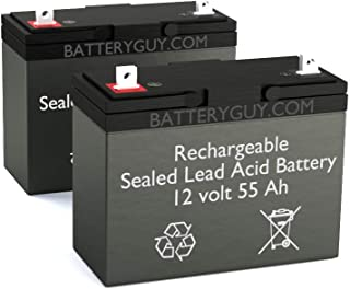 Jazzy 1120-2000 Replacement Battery Pack (Rechargeable)
