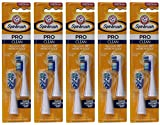 ARM & HAMMER Spinbrush Pro-Clean Replacement Brush Heads, Medium 2 ea (Pack of 5)