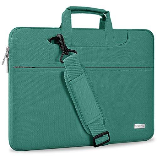 HSEOK 15 15,6 16 Zoll Laptoptasche Hülle, Griff Aktentasche Wasserabweisend Schutzhülle für MacBook Pro 16 15,4 Zoll, XPS 15, für die meisten 14