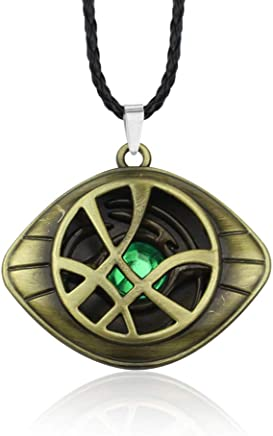 KOUYA Collar de Guitarra de Doctor Strange Eye,Gold