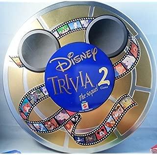 Disney Trivia the Sequel 2 Game Tin