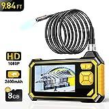 Industrial Endoscope,YINAMA 1.6-198inch Focal Distance Digital Semi-rigid...