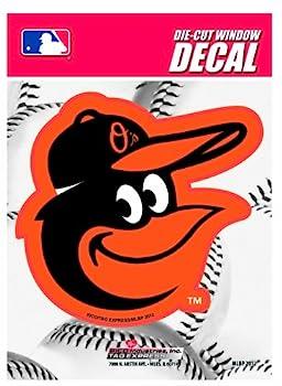 MLB Baltimore Orioles Die-Cut Window Decal