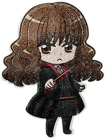 Mono Quick Parche termoadhesivo de Harry Potter, Hermione y Ron (16087, Hermione Granger)