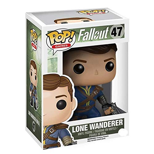 Gogowin Pop Games : Fallout - Lone Wanderer 3.9inch Vinyl Gift for Boys Games Fans
