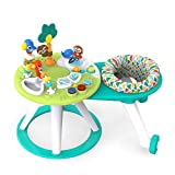 Bright Starts Around We Go 2-in-1 Walk-Around Activity Center & Table, Tropic Cool