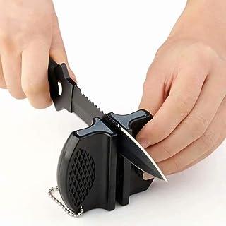Camp bolsillo de cerámica cuchillo de cocina Afilador de Herramientas de acero de tungsteno de Rod