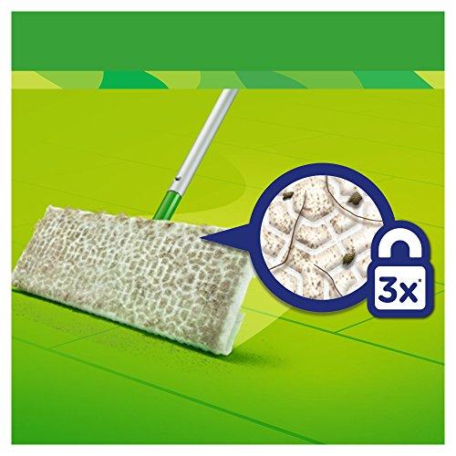 P & G Professional Swiffer Lingettes Balai attrape-poussière XXL pour les balais Swiffer, 6x 16pièces, 1er Pack (1x 86pièces)