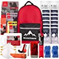 Rescue Guard; First Aid Kit, Hurricane Kit, Disaster Kit or Earthquake Kit; Emergency Survival Kit, Bug Out Bag Supplies, Survival Gear for 12 Days, 6 Days for 2, 72 Hours 4 People (Survival Pack) by Kangaroo Manufacturing