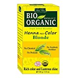 Indus Valley Henna Hair Color Blonde -100 % pure & natural (Micro fine triple shifted)