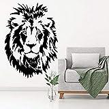 ASFGA Löwenkopf Kinder Wandaufkleber Wandaufkleber Tier