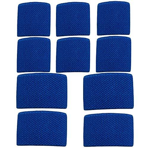 Amlrt Belt Keepers Tactical Elastic Belt Loop Keeper for 1''/1.5' Wide Belt(Blue)