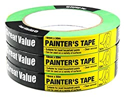 Multi-use green painters Tape 3-Pack