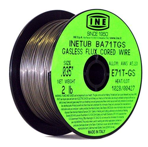 Acier Doux de soudage MIG Wire Reel Spool Roll Solid Core gaz mag Hobby 0.8 mm 1 kg