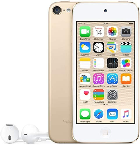 Apple iPod Touch 32GB Gold (6th Generation) MKHT2LL/A (Renewed)