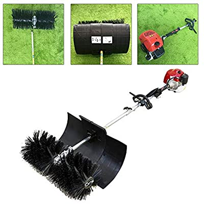 Artificial Grass Brush Power Broom 52Cc 2.3Hp Sweeper Lawn Turf Hand-Held Artificial Grass Electric Brush Lawn Sweeper Cleaning Tool