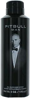 Unbekannt Pitbull Body Spray For Men, 6 Ounce