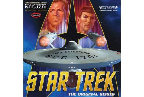 Polar Lights Star Trek TOS Enterprise 50th Anniversary Edition 1:350 Scale Model Kit