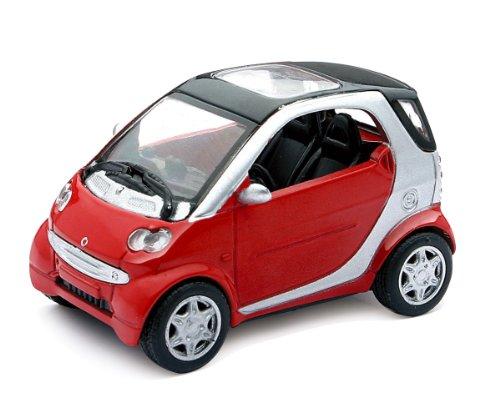 New Ray–71036–Fahrzeug Miniatur–Auto Smart Fortwo–Maßstab 1/24–Modell zufällige