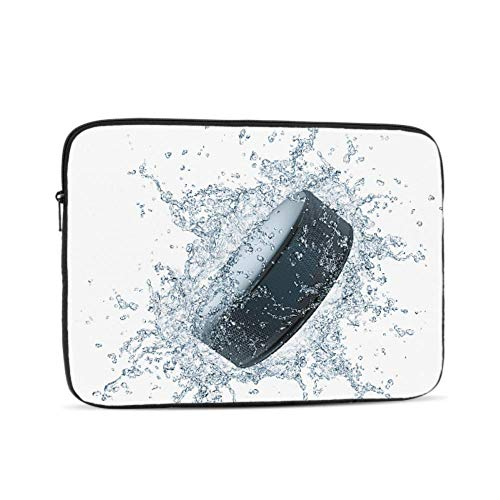 Hockey Puck Pattern Neoprene Sleeve Pouch Case Bag for 11.6' Inch Laptop Computer. Designed to Fit Any Laptop/Notebook/ultrabook/MacBook with Display Size 11.6' Inches