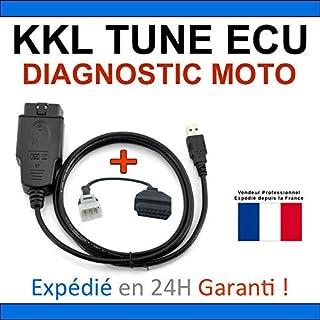 KKL diagnostische koffer voor motorfietsen, compatibel met TUNE ECU DUCATI Aprilia KTM TuneECU, lezen/verwijderen van fout...