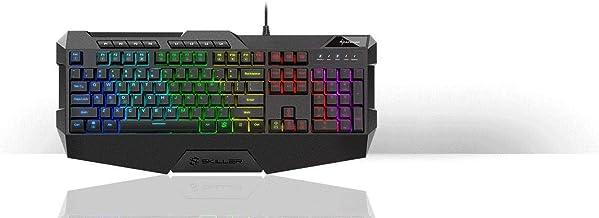 Sharkoon Skiller SGK4 Gaming Keyboard RGB, N-Key-Rollover ...
