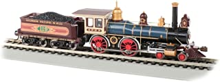 4-4-0 American Dcc Sound Value Equipped Steam Locomotive - Union Pacific #119 W/Coal Load - HO Scale