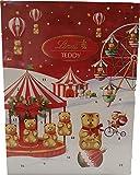 Generico Calendario de Adviento Teddy Lindt, bombones surtidos Lindt, 172 g