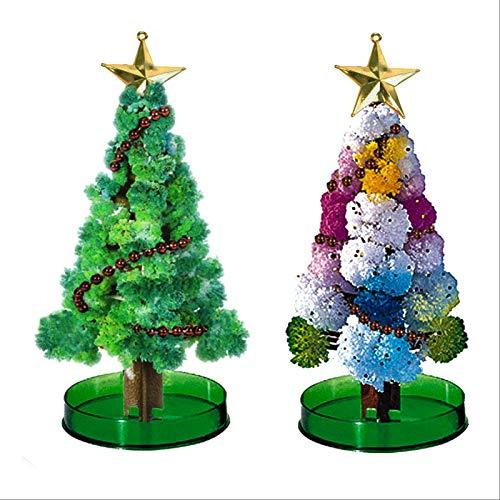 PMB Albero di Natale in Crescita Magico 2PCS Nightmare Before Christmas Decorations Ornamenti per L'Albero di Natale Christmas Tree Giocattoli educativi Fai da Te per Bambini