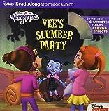 Vampirina Read-Along Book and CD Vee's Slumber Party (Read-Along Storybook and CD)
